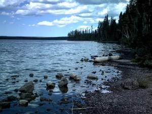 Lewis Lake at Yellowstone National Park