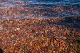 clear water rocks