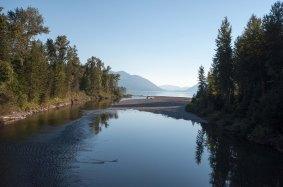 McDonald Creek from bridge