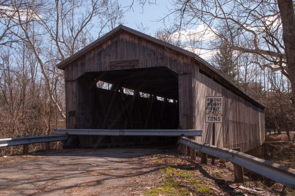 Brown Bridge was fourth on the list. This one is closed to automobile traffic, but you can still walk across the span.