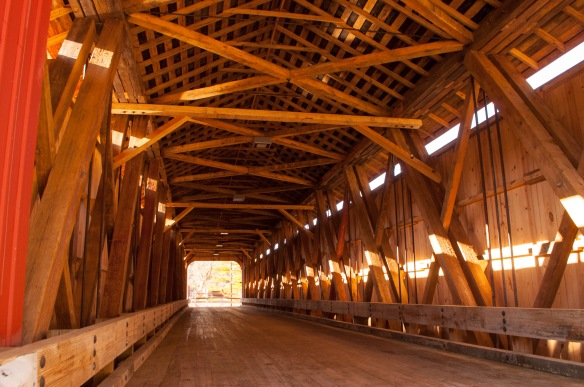 Stonelick Bridge was the last on our list. This is a reconstruction of the original span built in 1878. It is 140 feet long. It reopened to traffic in April 2015.