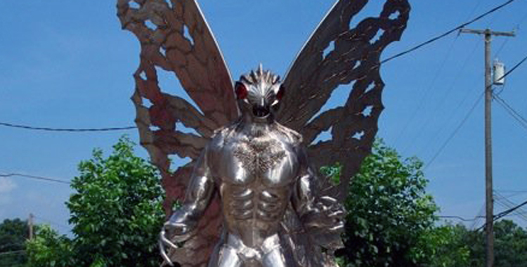 Point Pleasant's mothman is said to have tried to warn townspeople of a looming tragedy.