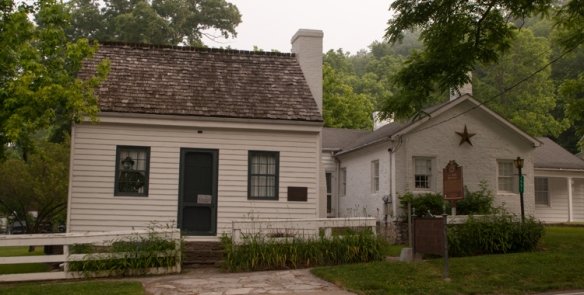 Ulysses S. Grant's birthplace in Point Pleasant, Ohio, just a few hundred feet from the Ohio River, is a reminder that no matter where you begin in life, you never know where you may end up.